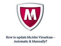 How to update McAfee VirusScan