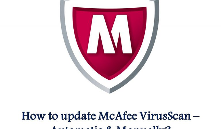 How to update McAfee VirusScan – Automatic & Manually?