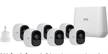 Arlo's Security Cameras by Netgear give assurance to your home