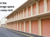 Get the storage space on easy rent