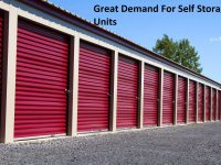 Great Demand For Self Storage Units